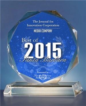 2015 Best of Santa Barbara Award in the Media Company category