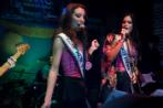 Candace Kendall, Miss New York USA, and Audra Mari, Miss North Dakota USA