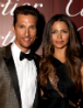 Matthew McConaughey and Camila Alves-McConaughey arrive for Desert Palm Achievement Award -- Actor (photo: Jeff Vespa / Getty Images)
