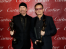 The Edge and U2 for Sonny Bono Visionary Award (photo: Jeff Vespa / Getty Images)