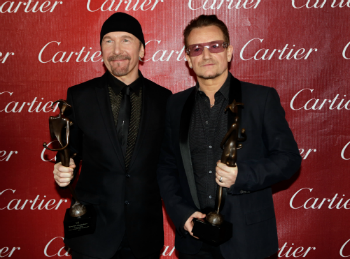 The Edge and U2 for Sonny Bono Visionary Award