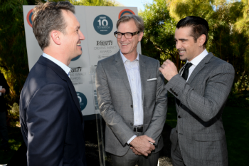 President of Walt Disney Studios Motion Picture Production, Sean Bailey, writer John Lee Hancock and actor Colin Farrell